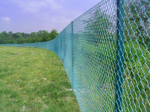 Galvanised chain link Fence installed in Lagos by Bisi-Best Nigeria Limited